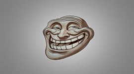 Troll Face Desktop Wallpaper HQ