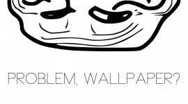 Troll Face Wallpaper Background