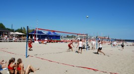 Volleyball Beach Aircraft Picture