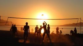 Volleyball Beach Desktop Wallpaper For PC