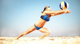 Volleyball Beach Image