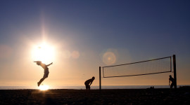 Volleyball Beach Image Download