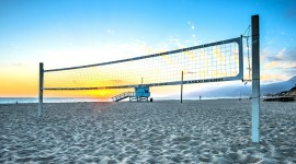 Volleyball Beach Photo