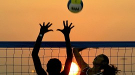 Volleyball Beach Picture Download