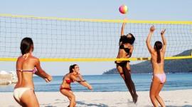 Volleyball Beach Wallpaper