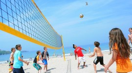 Volleyball Beach Wallpaper For Android