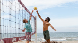 Volleyball Beach Wallpaper For IPhone