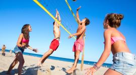 Volleyball Beach Wallpaper Free