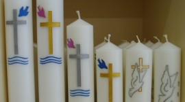 Church Candle Wallpaper Download
