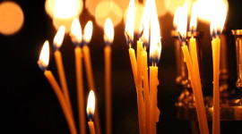 Church Candle Wallpaper For IPhone 6