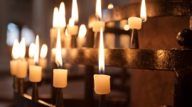 Church Candle Wallpaper Gallery