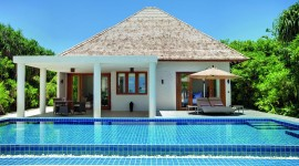 Villa With Pool Wallpaper Gallery
