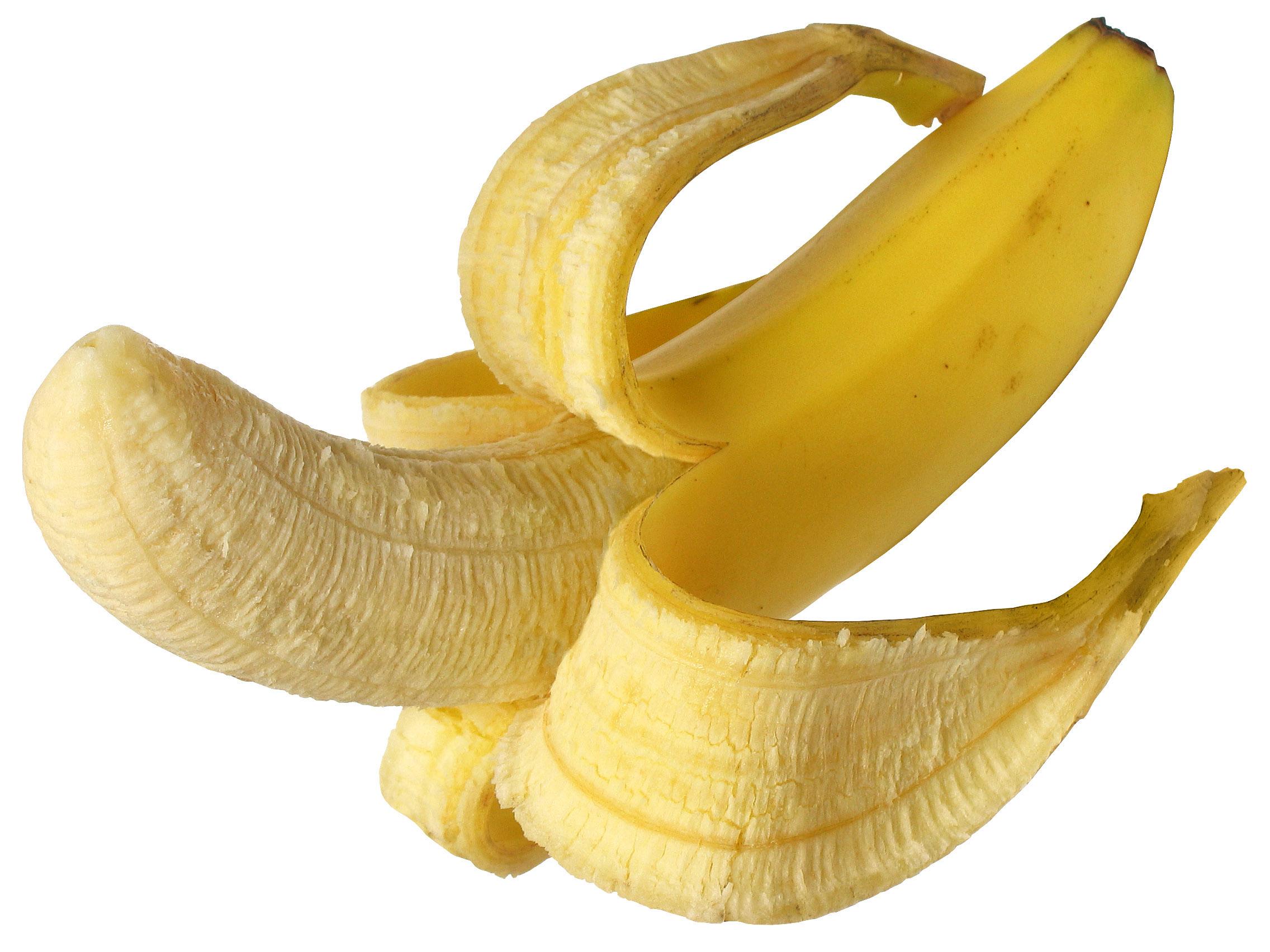 весна ранняя, картинка очищенного банана греет