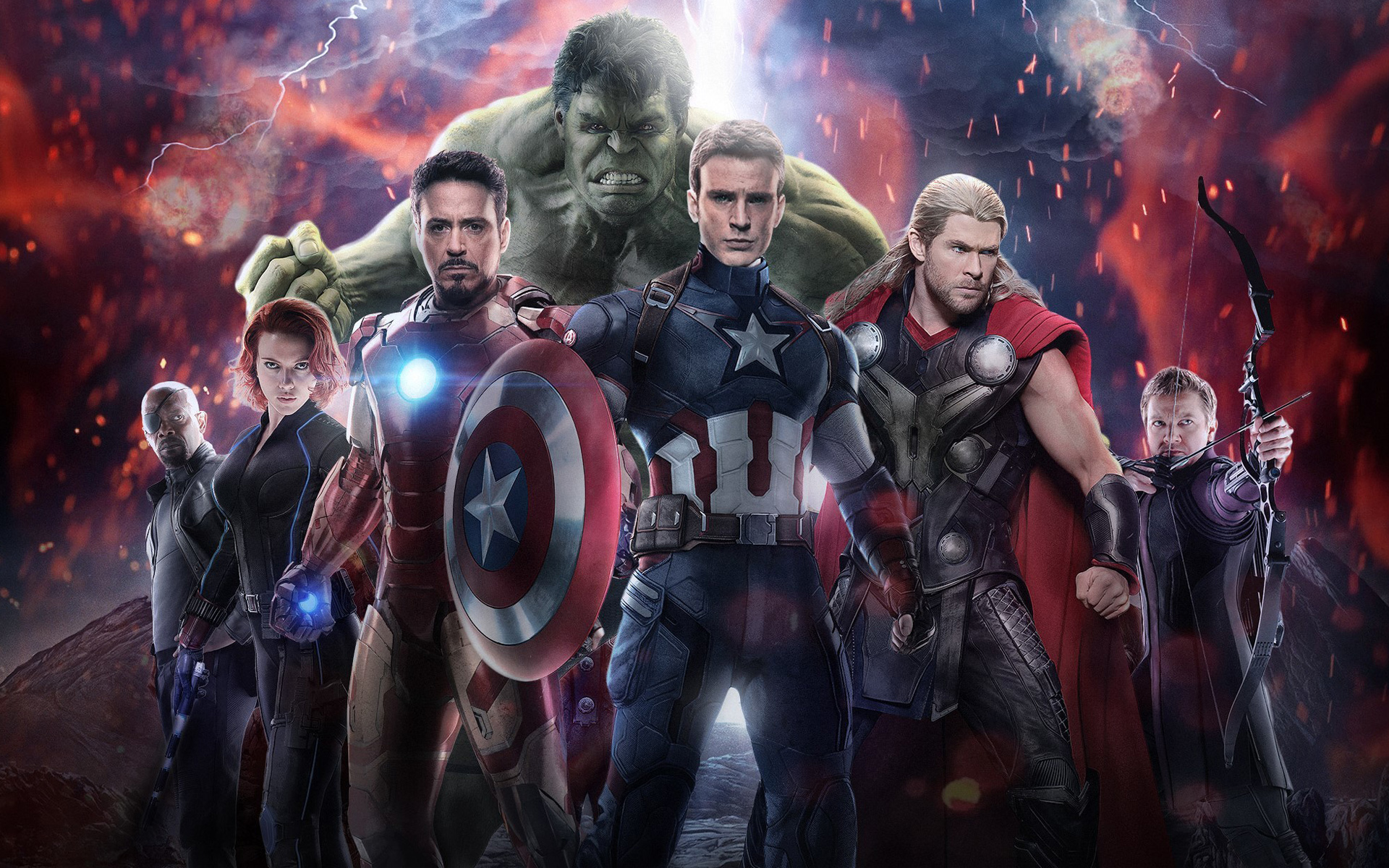 the avengers age of ultron wallpapers high quality | download free