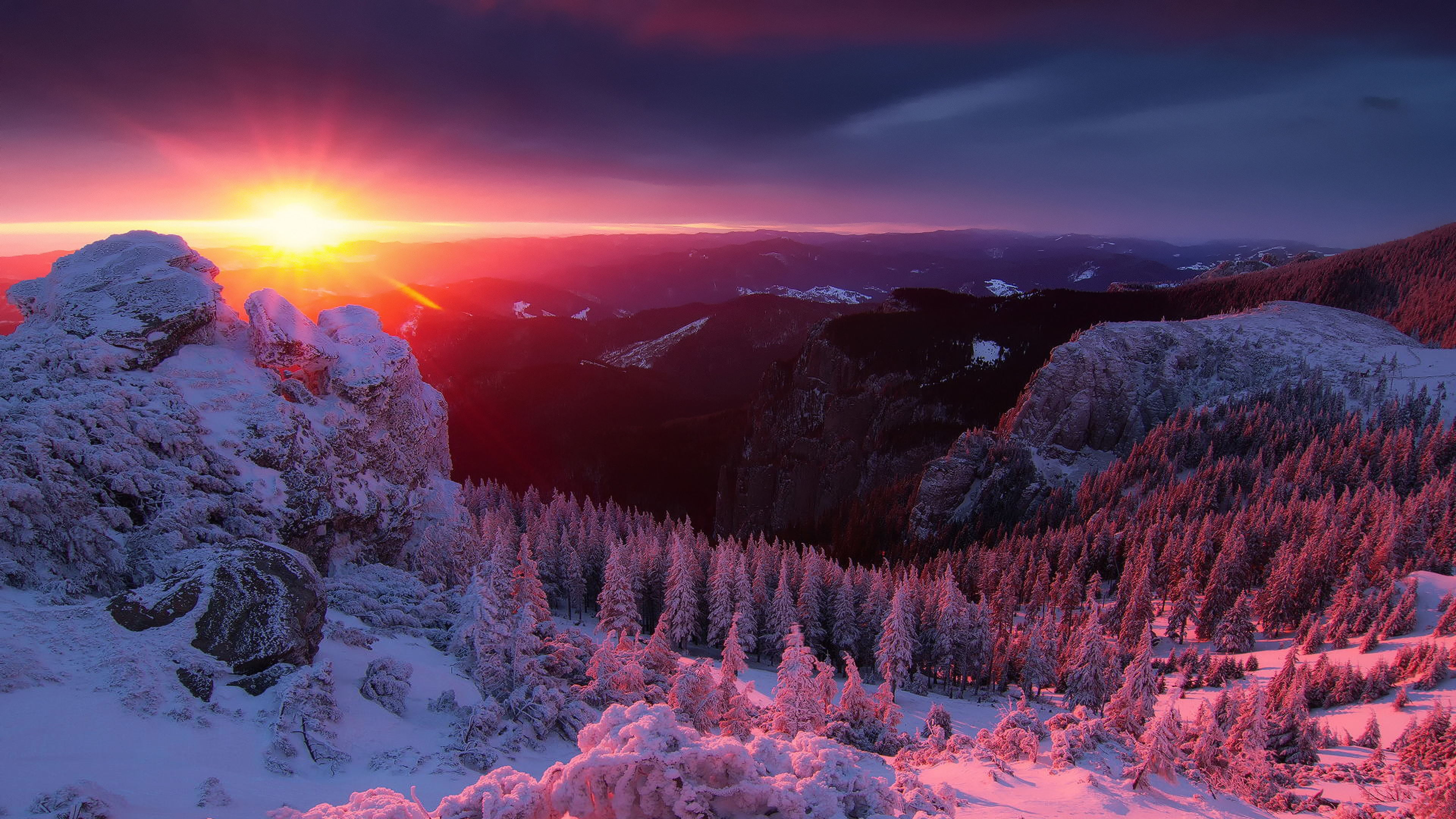 4k Winter Wallpapers High Quality | Download Free
