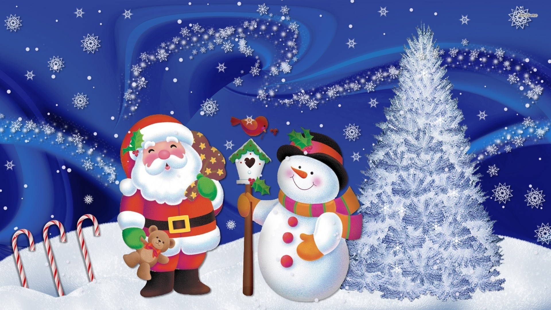christmas snowman wallpapers high quality | download free