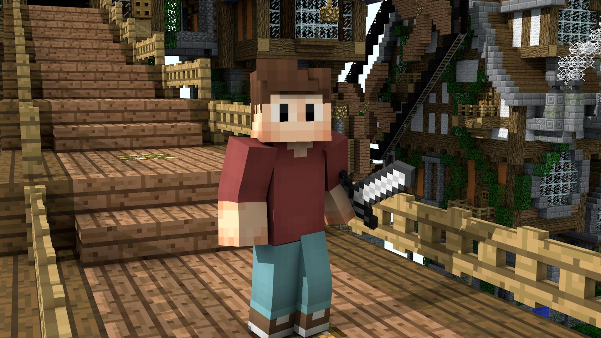 Minecraft Skin Wallpapers High Quality | Download Free