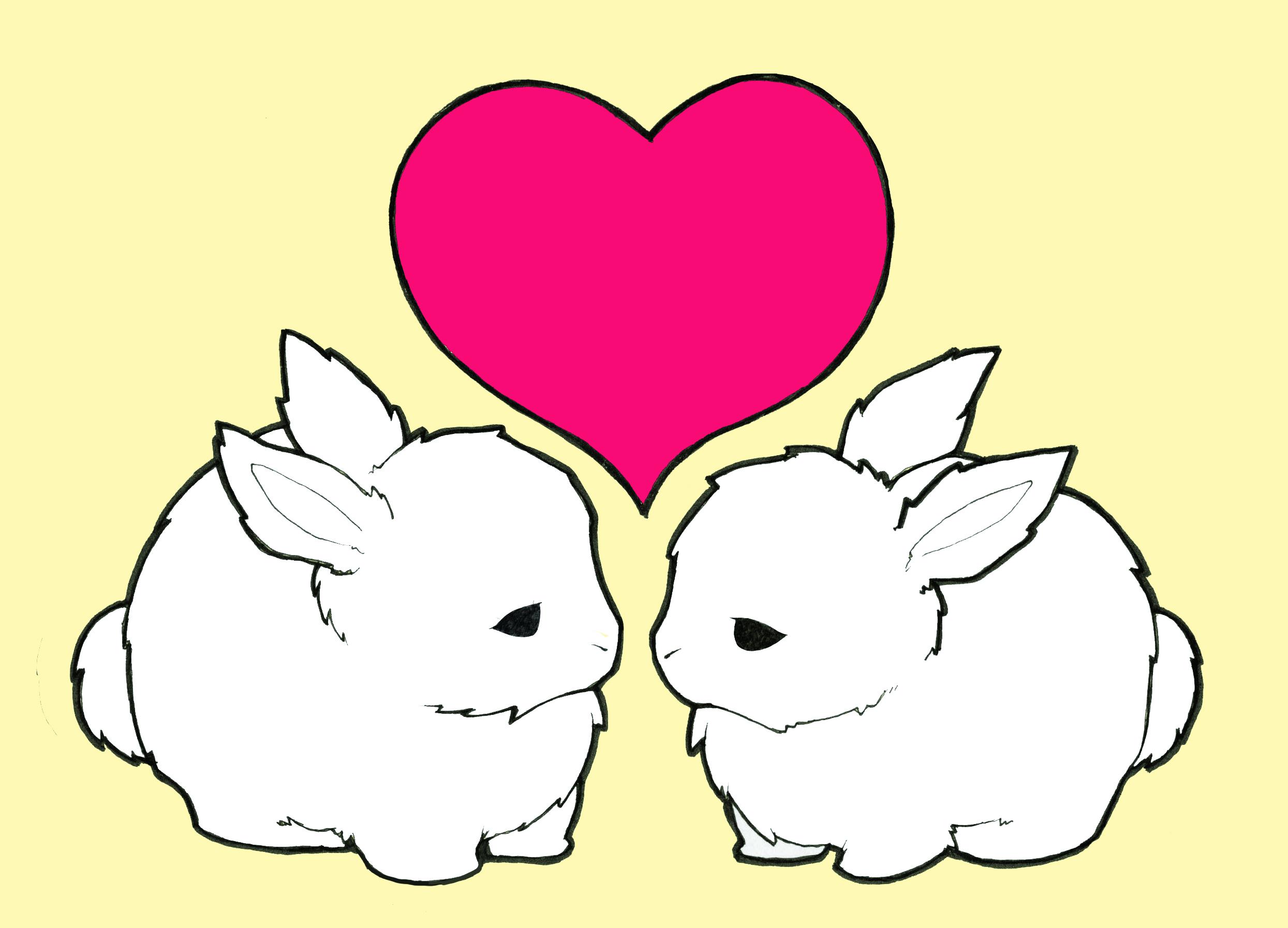 Маленькие рисунки про любовь милые