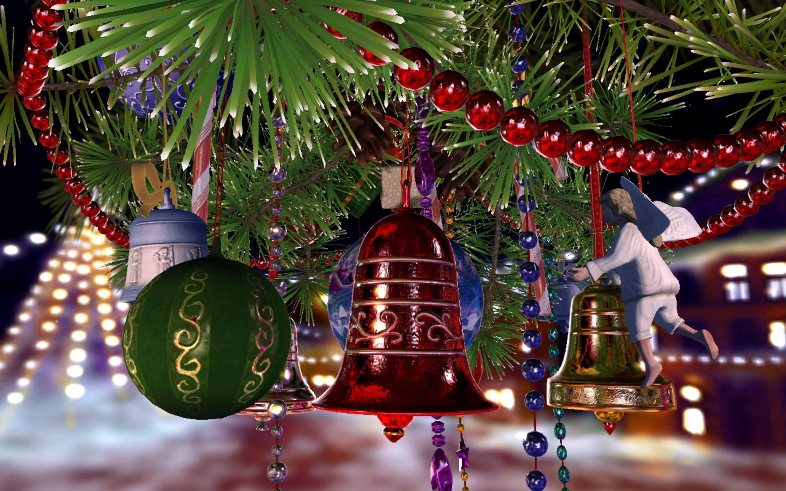 christmas bells wallpapers high quality | download free