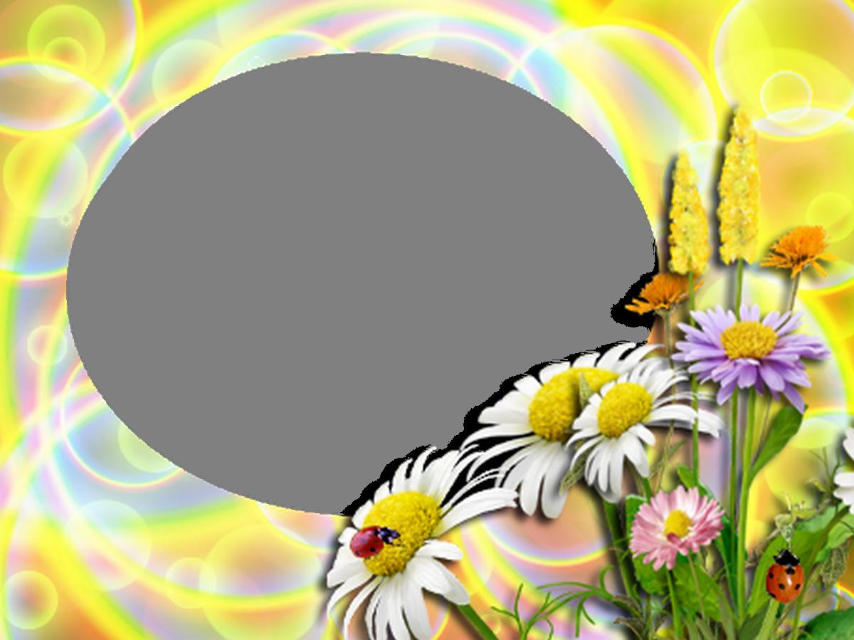 Рамка для фото солнышко