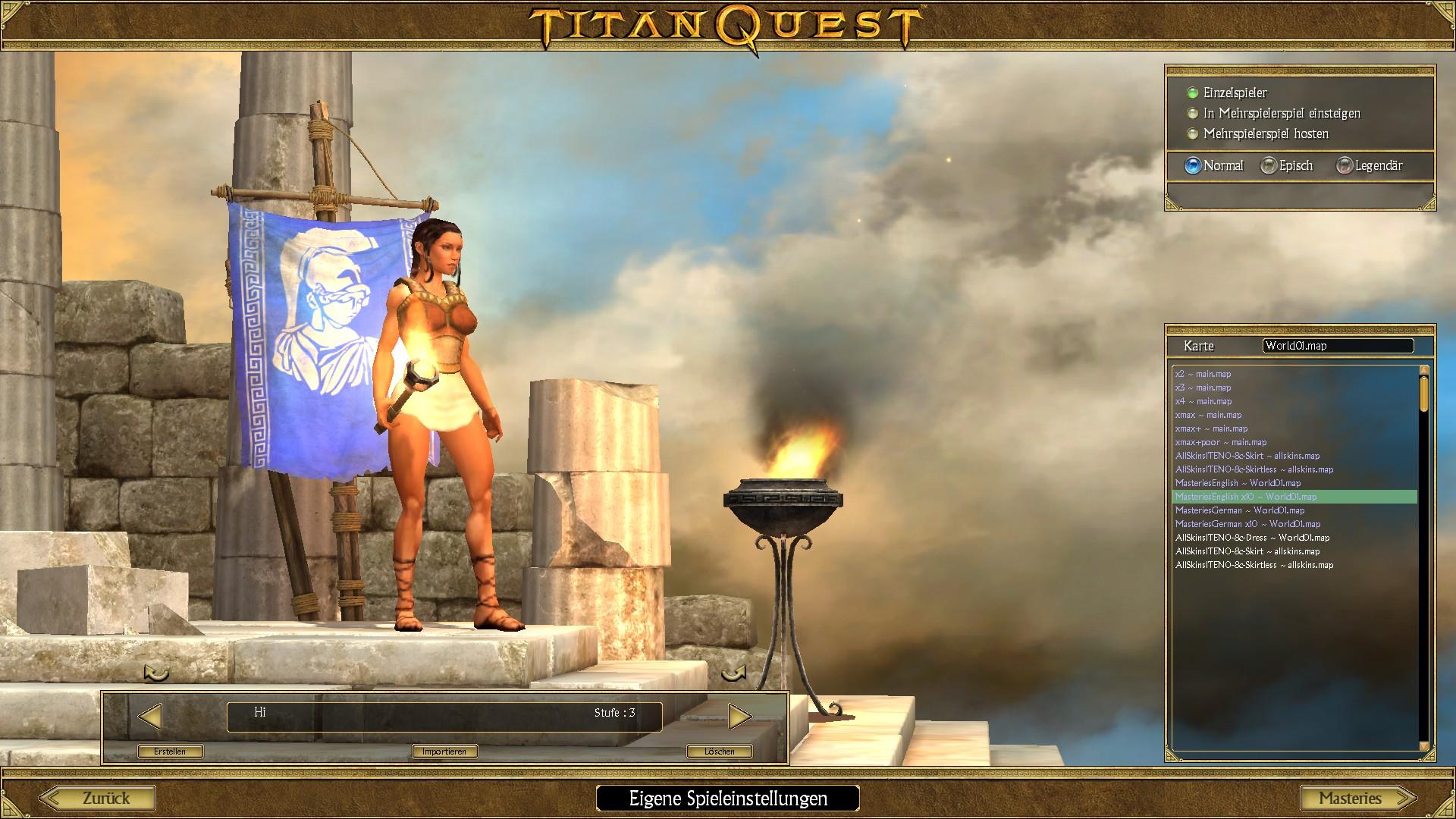 Titan Quest Anniversary Edition Orphne Nude Mod