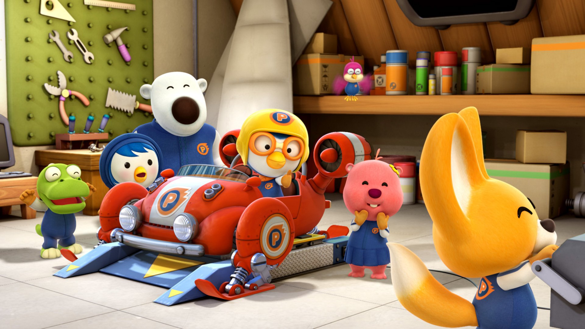 Pororo The Racing Adventure Wallpapers High Quality ...
