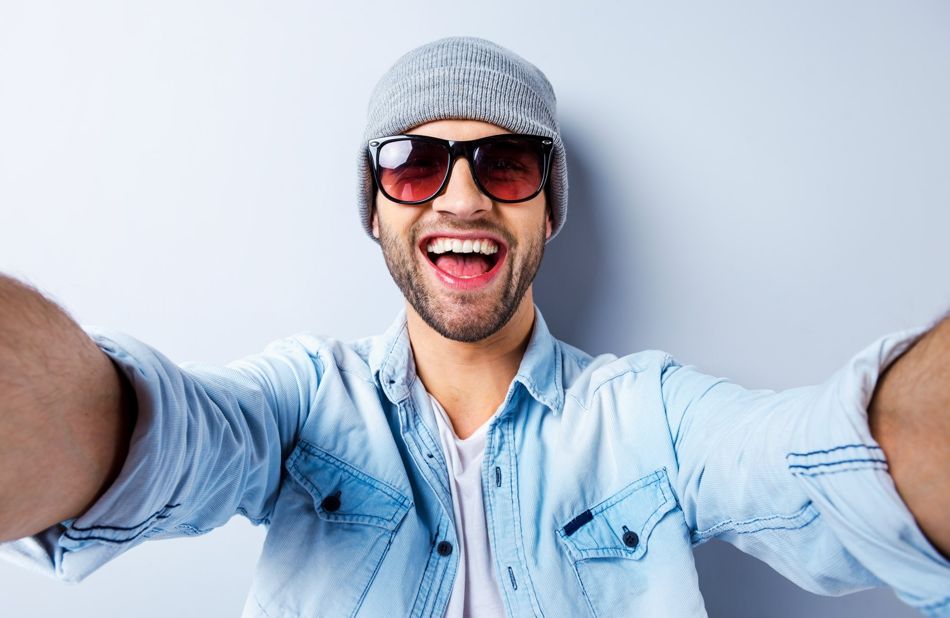 Man Selfie Wallpapers High Quality   Download Free